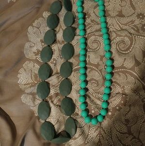 Jewelry - Lot of two teething necklaces